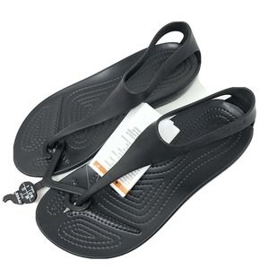 Crocs Size 6 SERENA Sandals Womens Shoes New